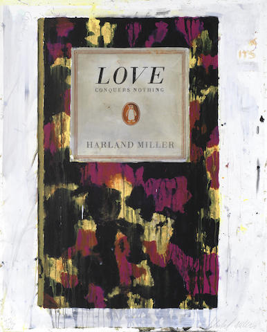 Harland Miller-Love Conquers Nothing-2011