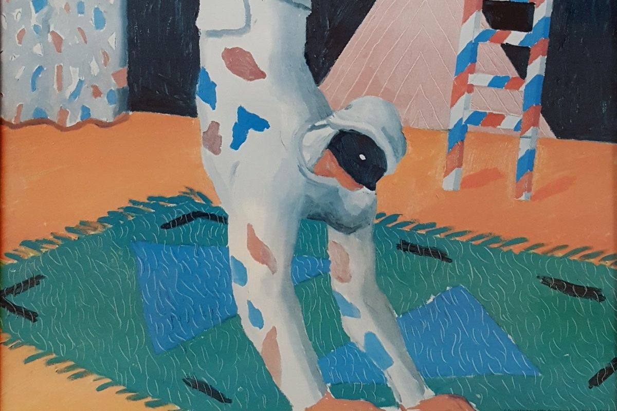 Harlequin from Parade (detail), 1981