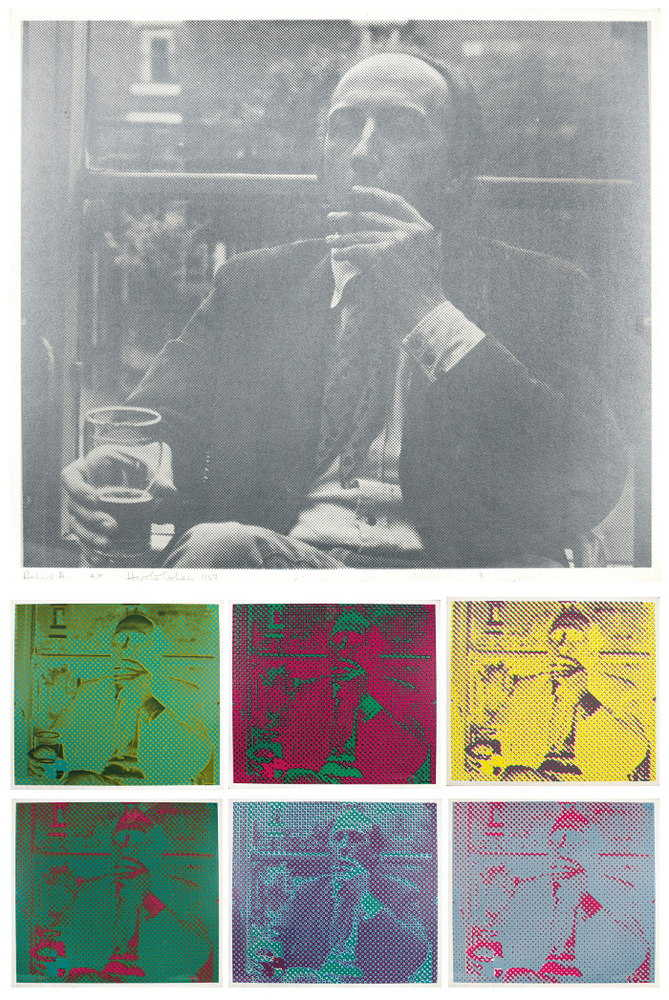 Harold Cohen-Richard Hamilton-1967