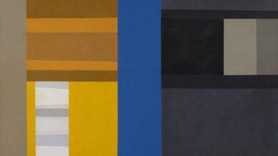Harold Krisel - Blue Parade, 1960 (detail)