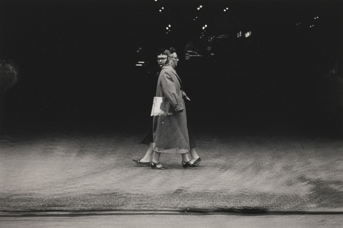 Harry Callahan-Chicago (Double Exposure)-1955