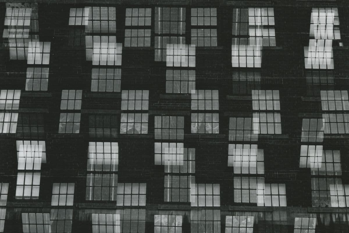 Harry Callahan - Chicago (detail), 1948