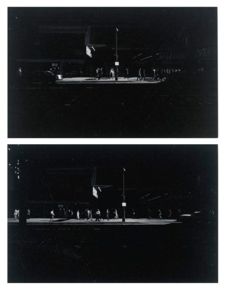 Harry Callahan-Selected Images Of Wabash Avenue Chicago-1958