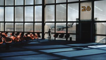 Harry GRUYAERT, USA, Las Vegas International airport, 1982