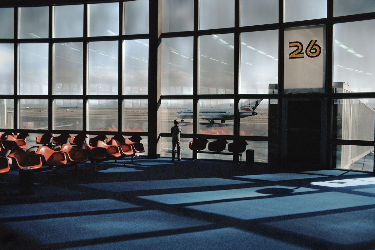 Harry GRUYAERT, USA, Las Vegas International airport, 1982