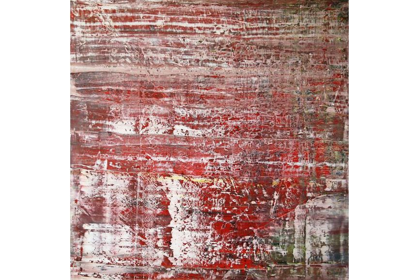 Harry Moody - Abstract with Red
