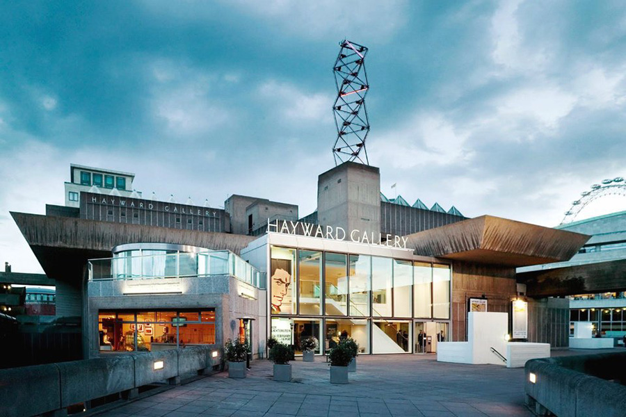The Hayward Gallery in London, via hisour.com