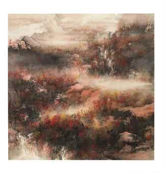 He Baili-Autumn Colours-