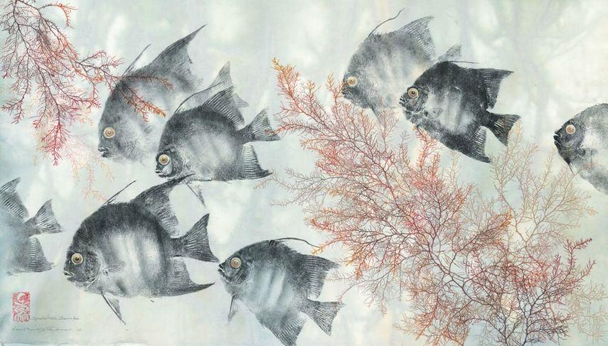 Heather Fortner - Spadefish Samba, Atlantic Spadefish, the technique through history