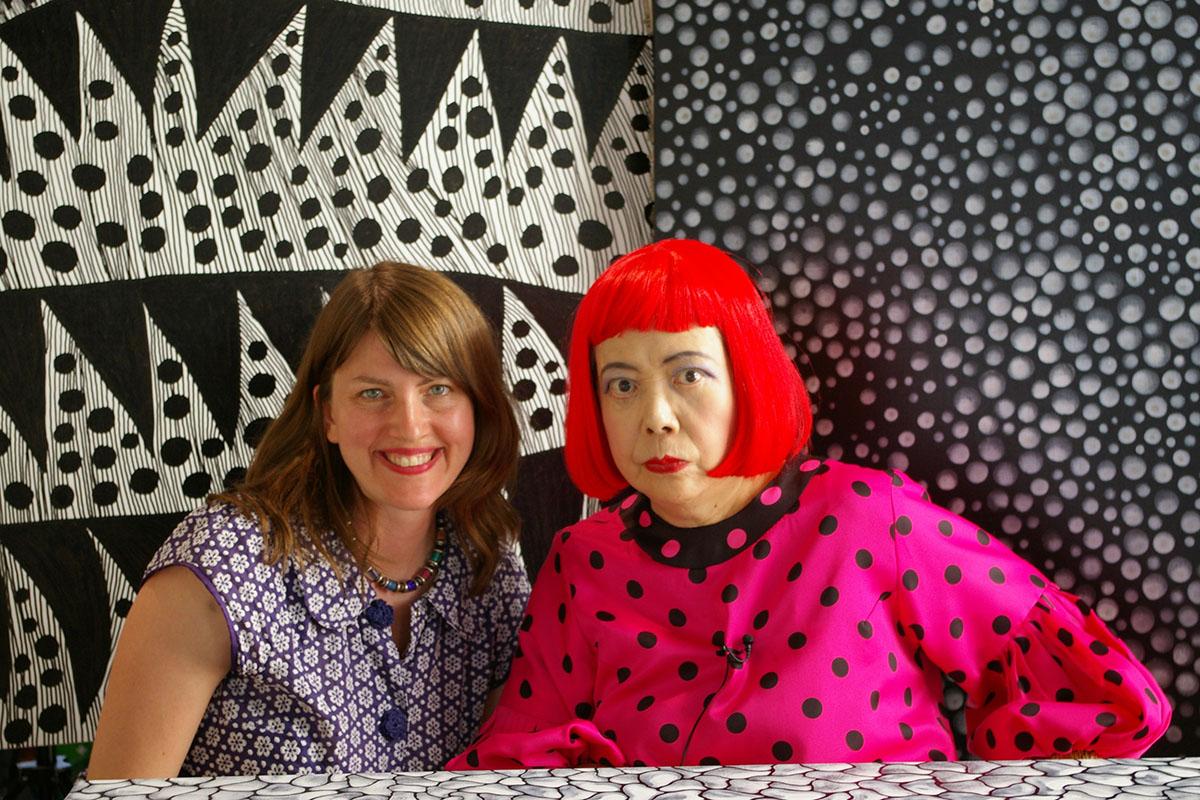 Heather Lenz and Yayoi Kusama © Tokyo Lee Productions, Inc