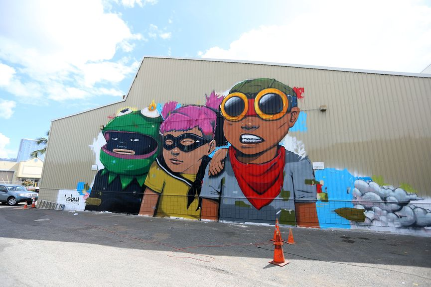 Hebru Brantley in Hawaii