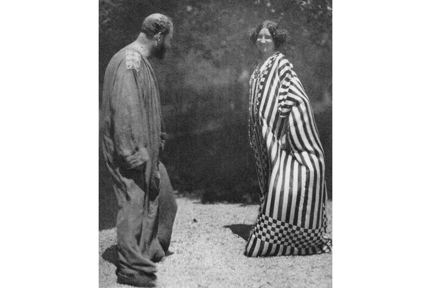Heinrich Bohler - Gustav Klimt and Emilie Floge