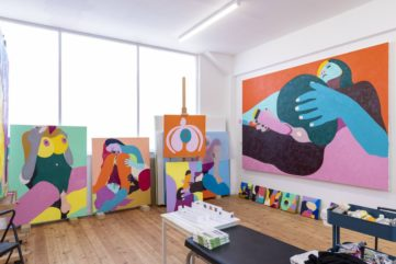 Helen Beard's Explicit Paintings Go On View at Unit London