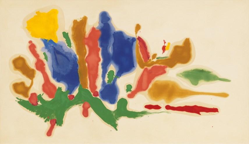 Helen Frankenthaler - Cool Summer