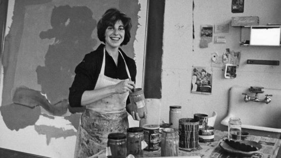 Helen Frankenthaler - Photo of the artist - Image via frankenthalerfoundationorg