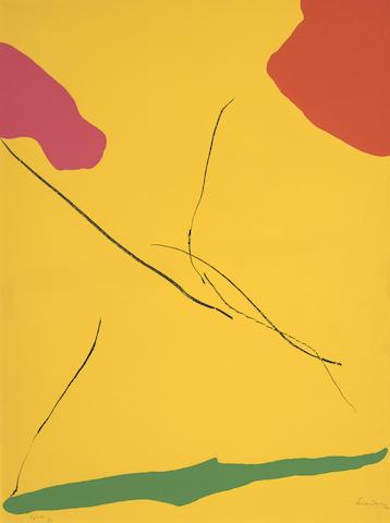 Helen Frankenthaler-Spoleto-1972
