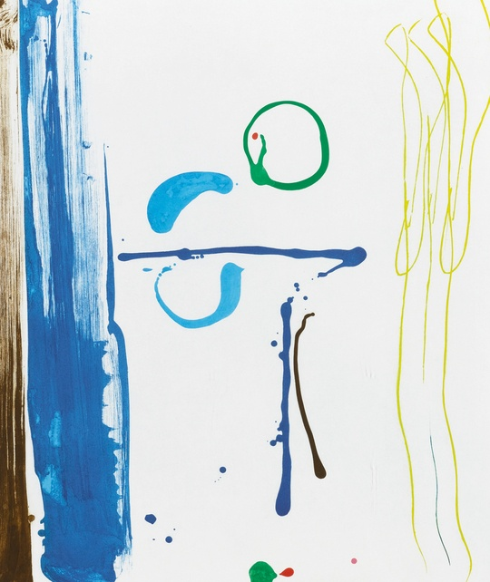 Helen Frankenthaler-Sunshine After Rain (Harrison 126)-1987