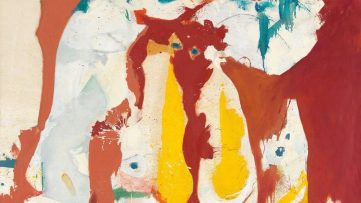 Helen Frankenthaler - The Red Sea, 1959 (detail)