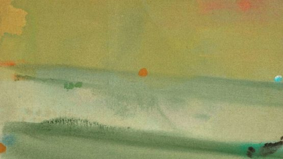 Helen Frankenthaler - Untitled, July, 1975, 1975 (detail)