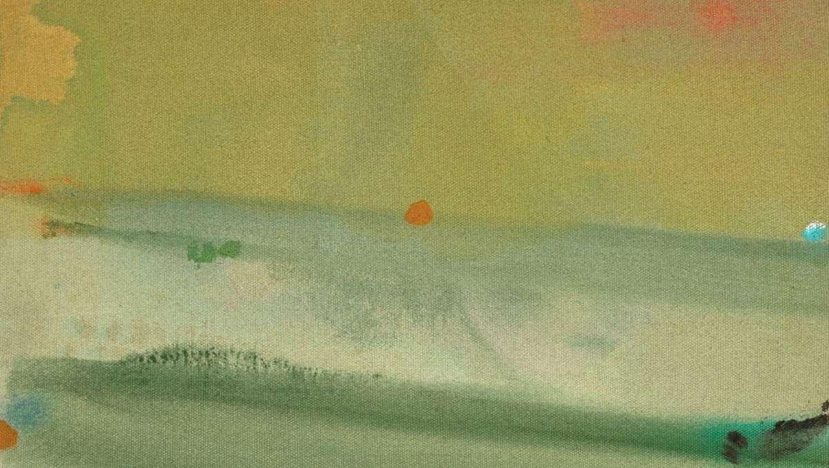 Helen Frankenthaler - Untitled, July, 1975, 1975 (detail)