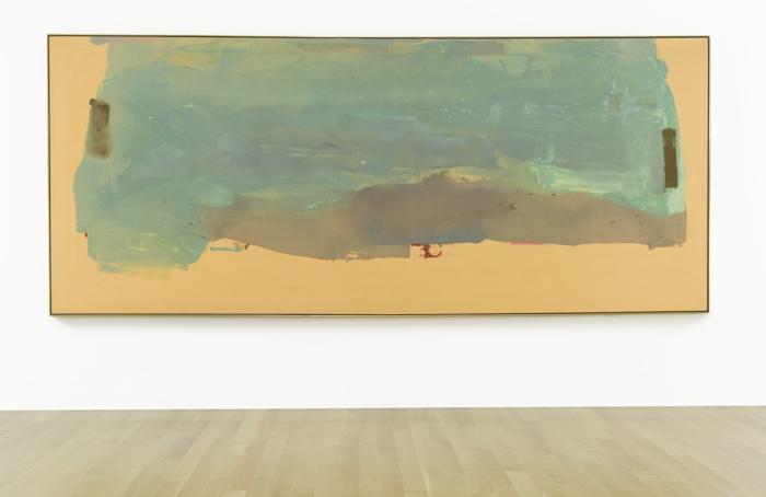 Helen Frankenthaler-When The Snow Melts-1975