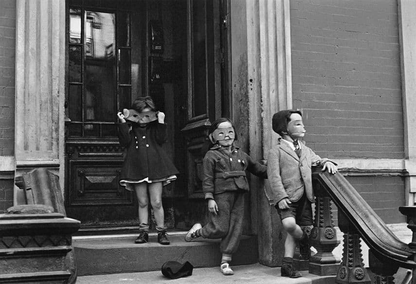 Helen Levitt - New York, 1940