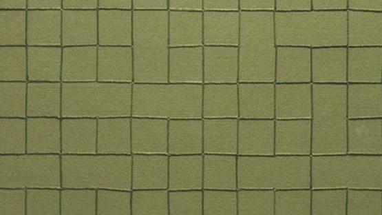 Helen Mirra - Embroidered Grid, 2000