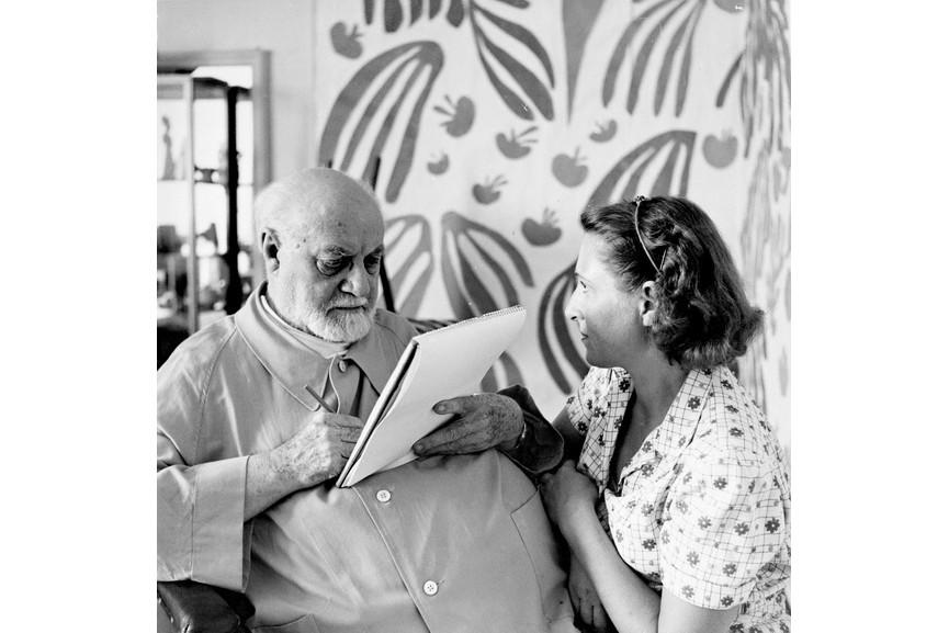 Helena Adant - Matisse drawing Lydia Delectorskaya