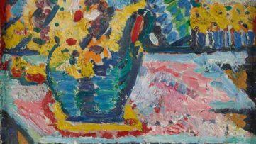 Helene von Taussig - Stillleben mit Blumenkrug