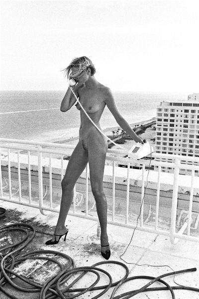 Helmut Newton - Celia, Miami, 1991