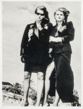 Helmut Newton-Yves Saint Laurent Fashion-1980