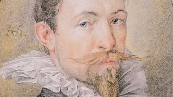 Hendrick Goltzius - Self-Portrait, c. 1593-1594 (detail)