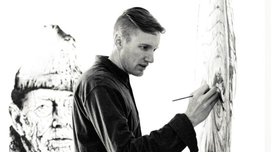 Hendrik Beikirch making art