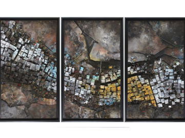 Hendrik Czakainski - ohne Titel (Triptych)