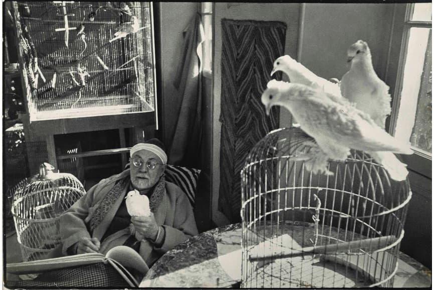 Henri Cartier Bresson - Henri Matisse, 1944