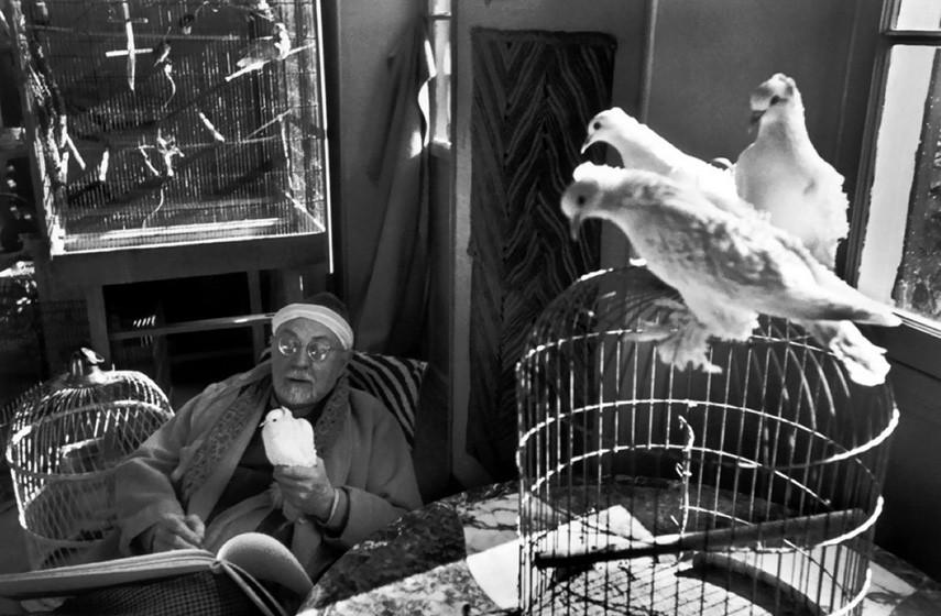 Henri Cartier-Bresson - Henri Matisse, France, 1944 print