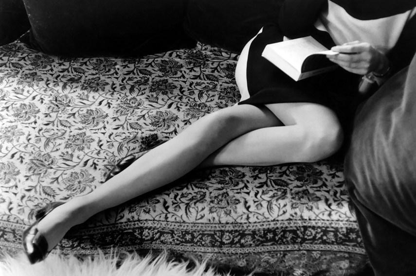 Henri Cartier-Bresson - Martine's Legs, 1967