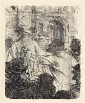 Henri de Toulouse-Lautrec-Georges Clemenceau, Au Pied de Sinai, Henri Floury, Paris-1898