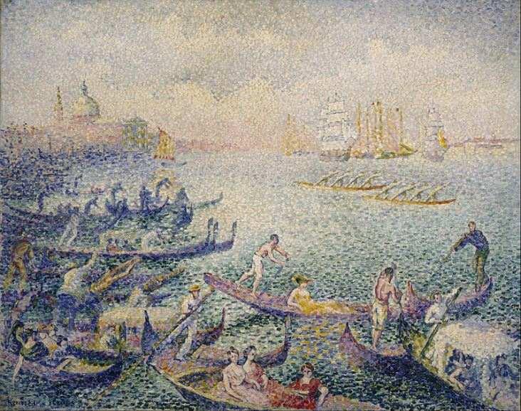 Pointillism Dotted Art