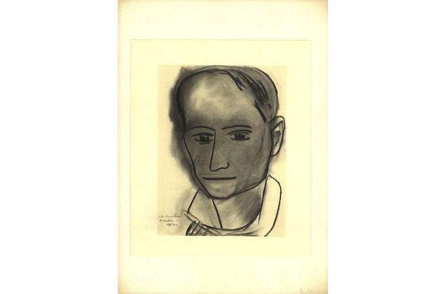Henri Matisse - Charles Baudelaire, 1954