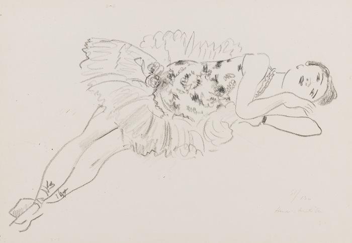 Henri Matisse-Danseuse Entendue-1925