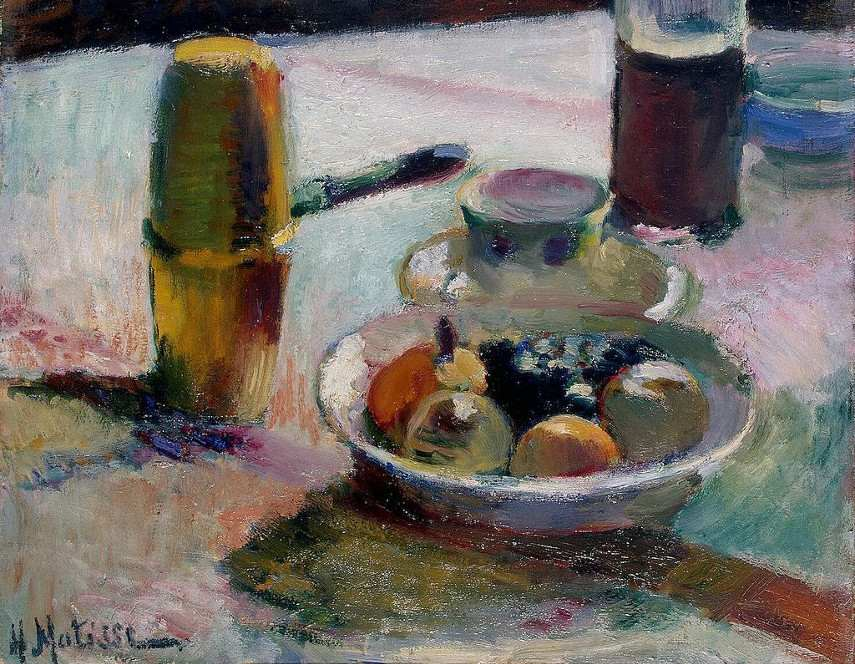Henri Matisse - Fruit and Coffeepot, 1898