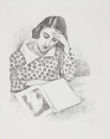 Henri Matisse-Grande Liseuse-1923
