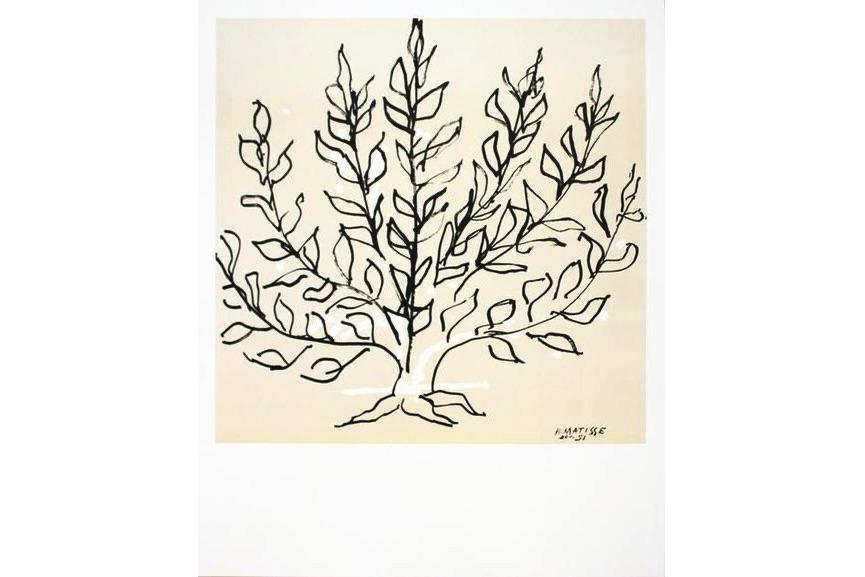 Henri Matisse - Le Buisson II