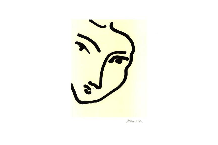 Henri Matisse - Nadia Au Menton Pointu