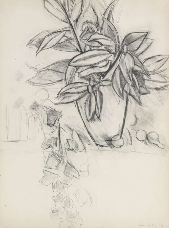 Henri Matisse-Nature Morte Au Lierre-1915