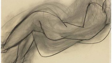 Henri Matisse - Nu couche de dos