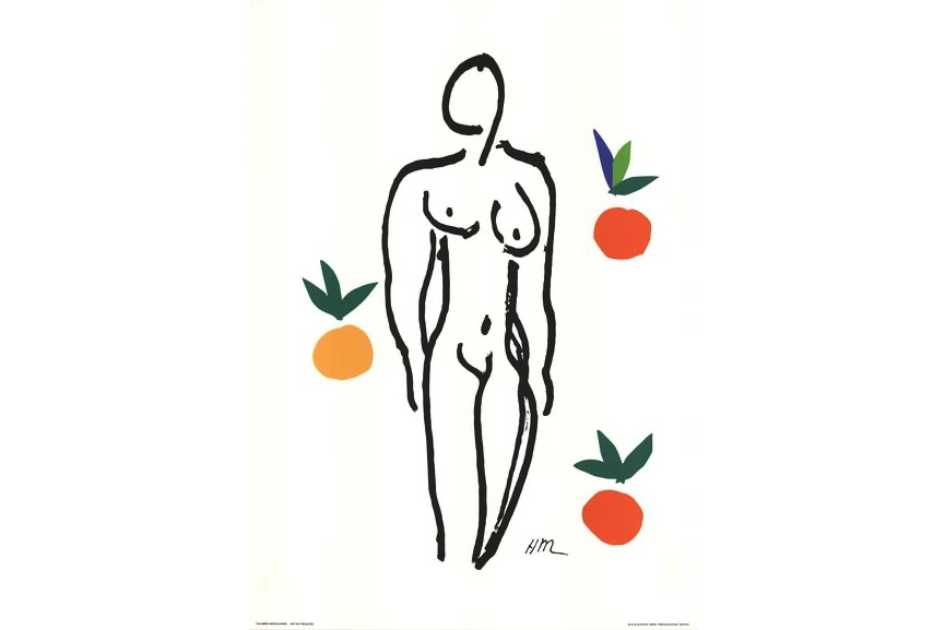 Henri Matisse - Nude With Fruits