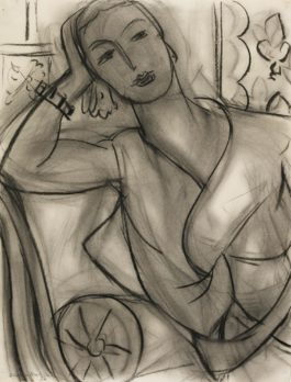 Henri Matisse-Portrait Of Mrs Hutchinson-1936