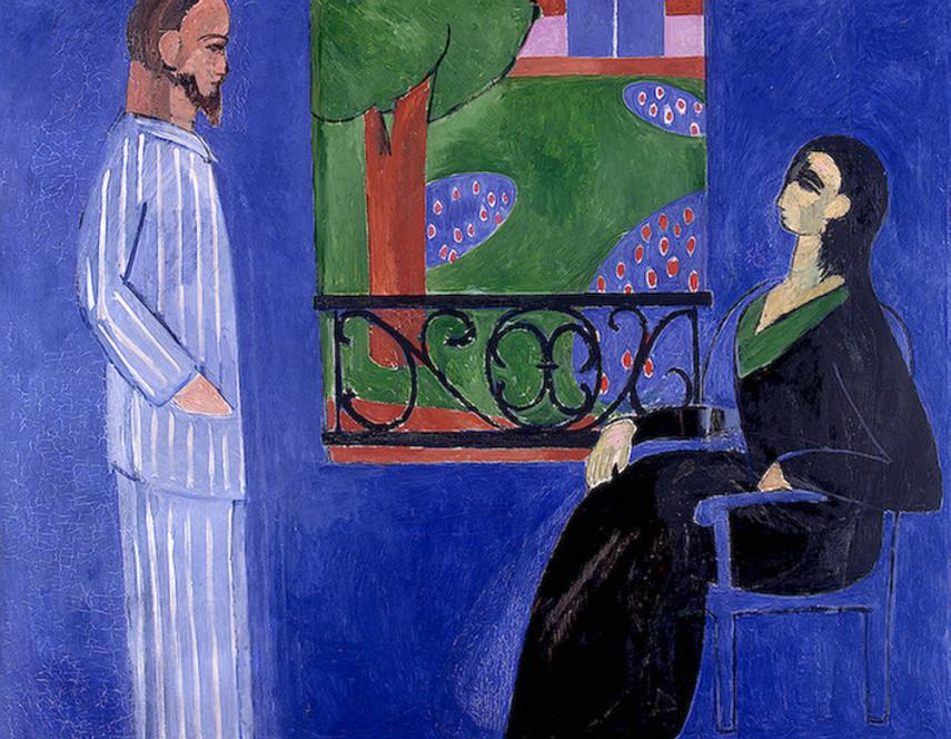 Henri Matisse - The Conversation, 1911